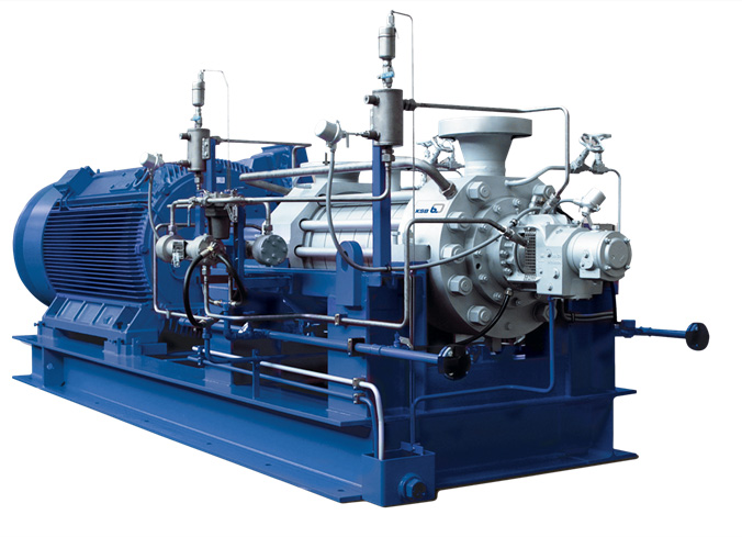 High Pressure Multi Stage Pump : High pressure performance multi stage pumps from ksb