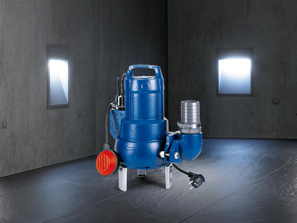 schmutzwasserpumpe berall dort wo abwasser transportiert wird ksb. Black Bedroom Furniture Sets. Home Design Ideas