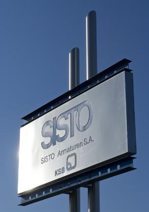 SISTO Armaturen S.A. | KSB | {Armaturen industrie 26}