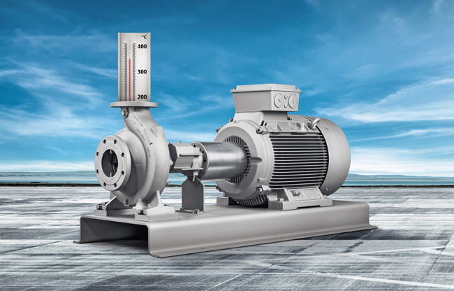 Pumps and valves for heat transfer engineering | KSB