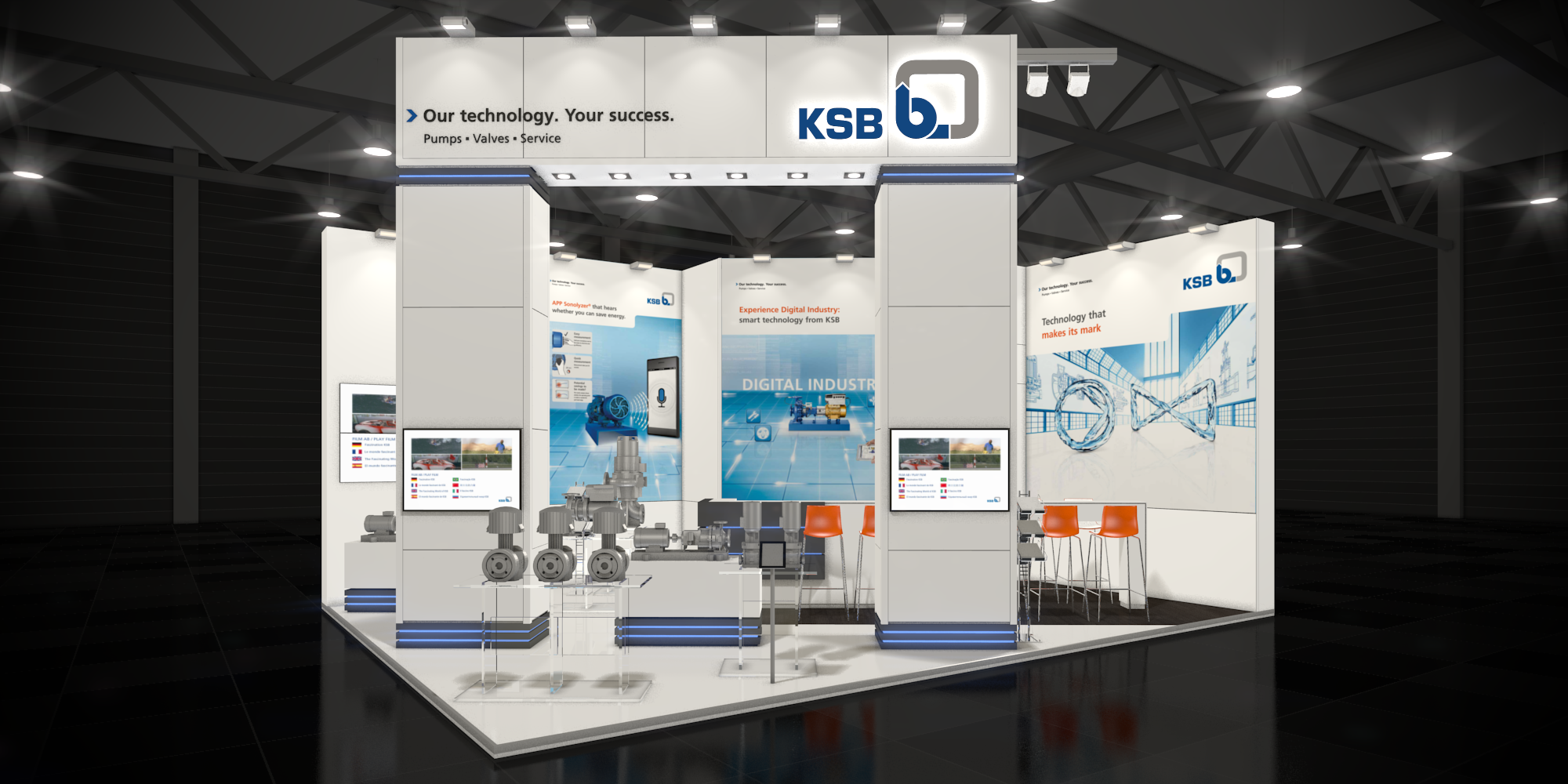 Exhibition Stand Tenders : Ksb australia at ozwater in 2017 ksb