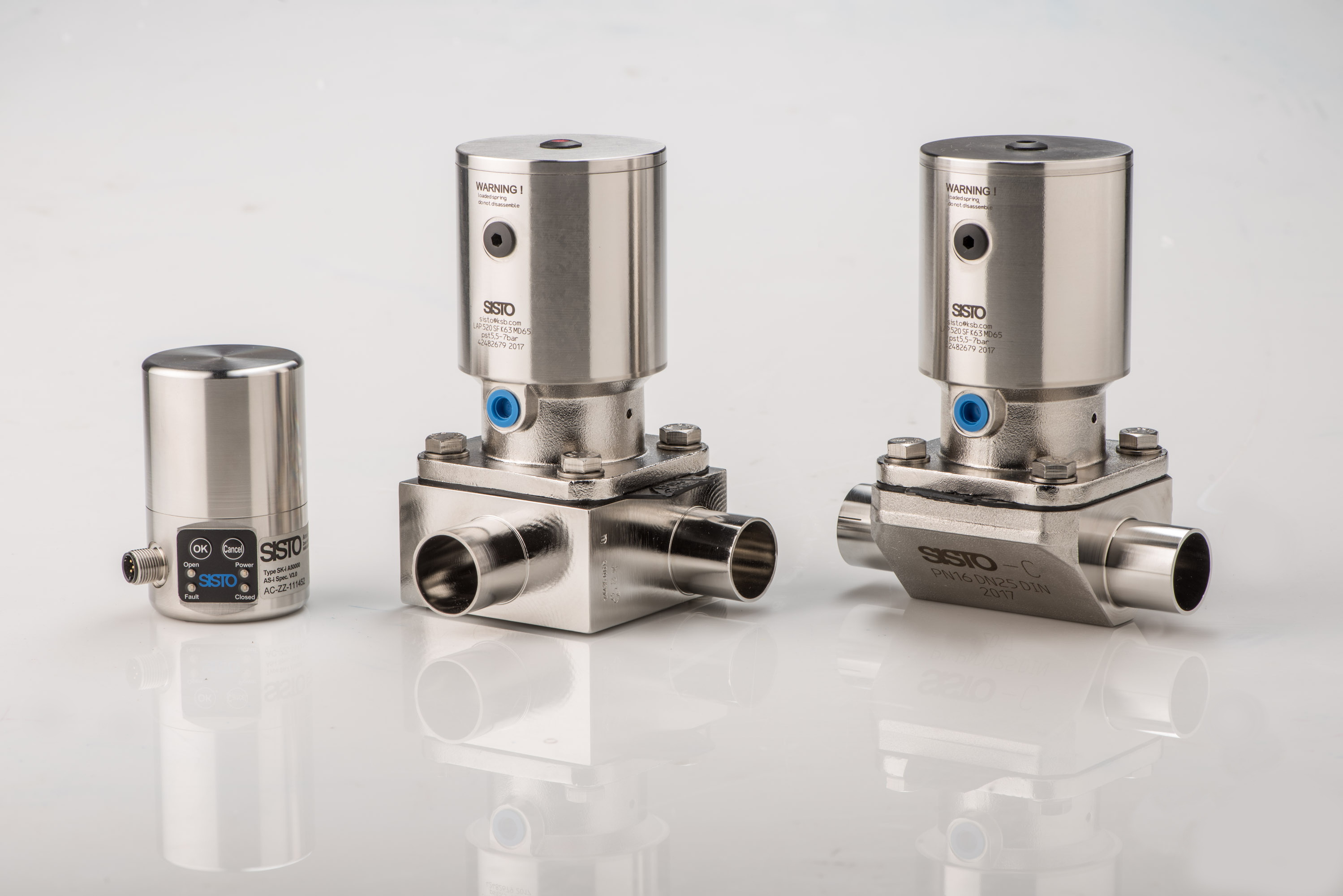 New pneumatic actuator for diaphragm valves used in sterile press photo new pneumatic actuator for diaphragm valves used in sterile applicationsimage 740 kb ccuart Choice Image