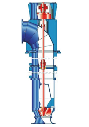 Propeller pump: Tubular casing pump with mixed flow propeller
