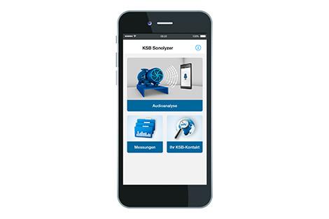 KSB Sonolyzer® для смартфонов и планшетов