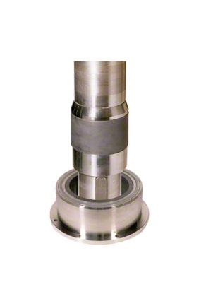 "Plain bearing: Ceramic bearing (material: ceramic fibre reinforced sleeve, ""monolithic"" ceramic bush)"