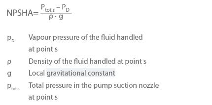 NPSH_Formel_1
