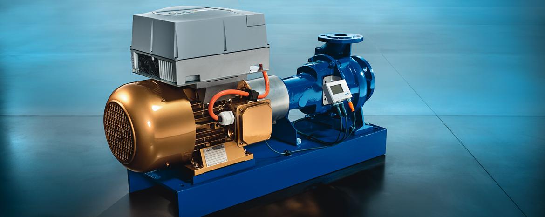 Etanorm PumpDrive s motorem  SuPremE® 7.5 kW od KSB