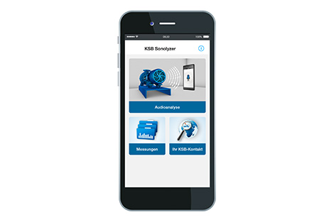 KSB Sonolyzer® on Smartphone