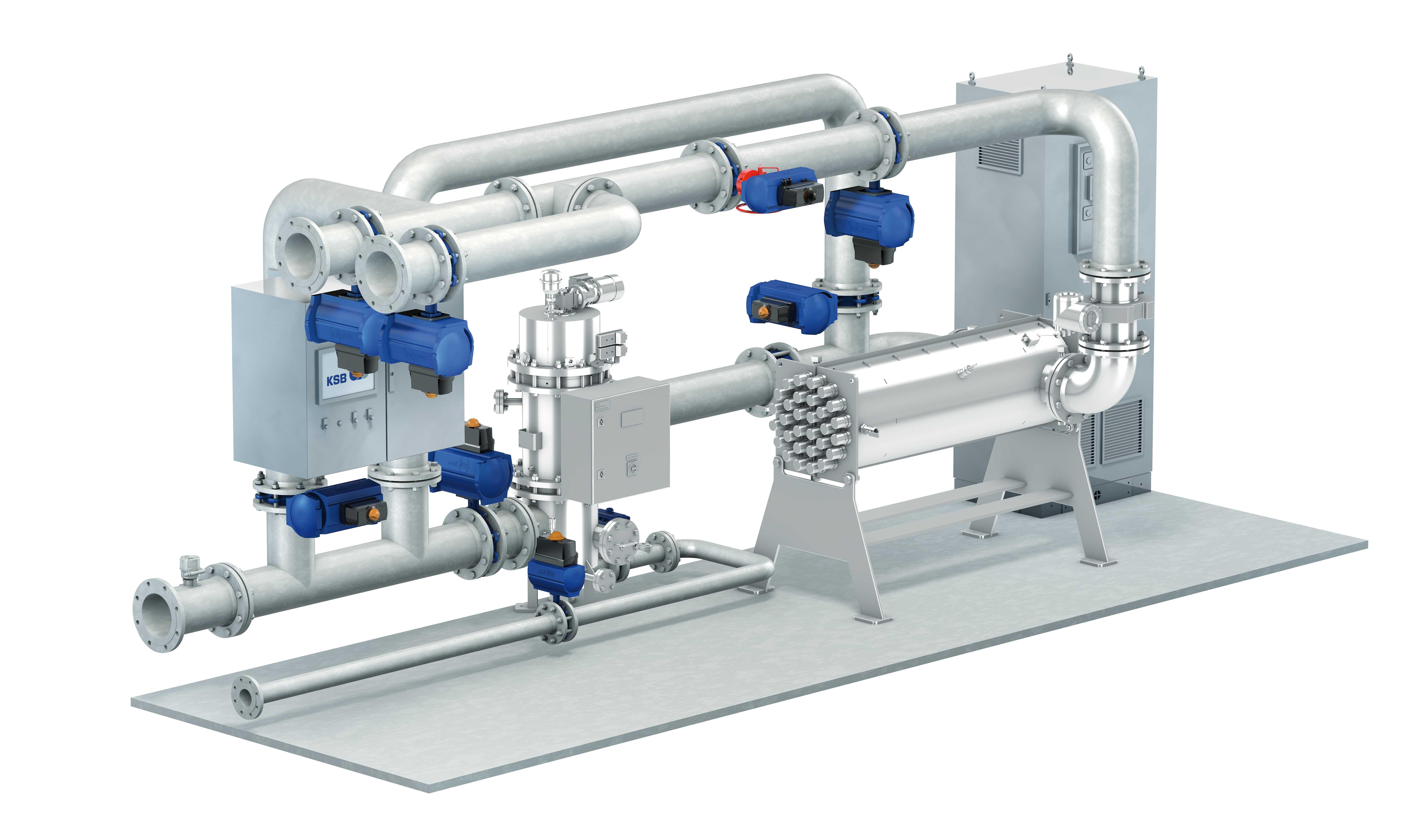 Water Treatment System : Ballast water treatment system ksb