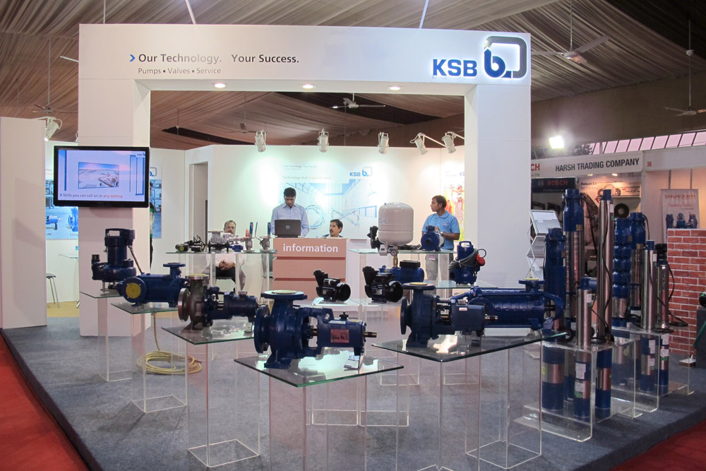 Showcasing Industrial Pumps And Valves At Indore Ksb