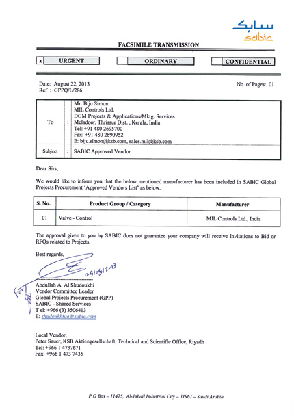 Saudi Basic Industries Corporation (SABIC)