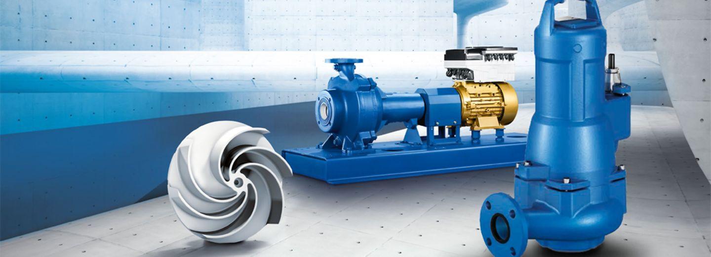 Amarex KRT and Sewatec waste water pumps