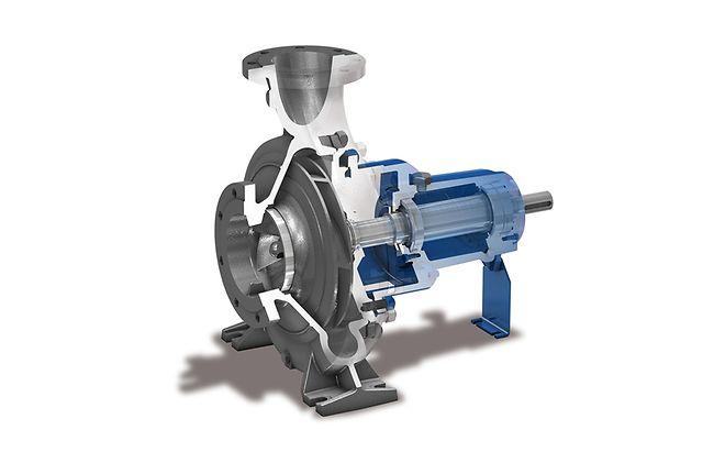 Beliebt Kreiselpumpe - Energieeffiziente Pumpen vom Traditionshersteller | KSB MW98