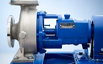 Standardised chemical pump MegaCPK is the innovative further development of three well-proven type series of KSB.