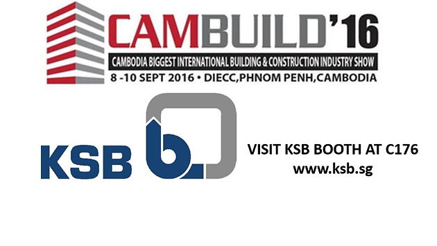 Cambuild and KSB Logo