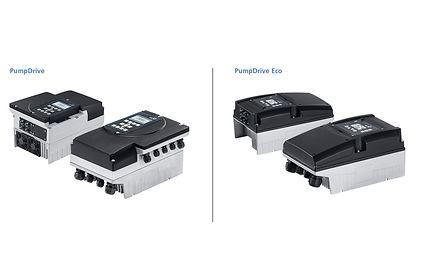 PumpDrive and PumpDrive Eco versions