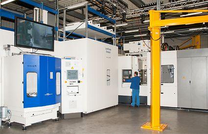 New machining centre