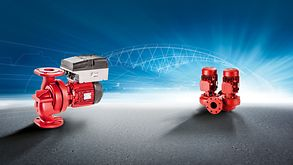 Flexible, efficient and reliable: Etaline L/DL pumps stand for high overall efficiencies for building services applications.