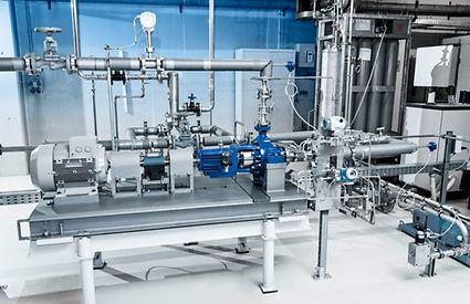 CO2 test facility