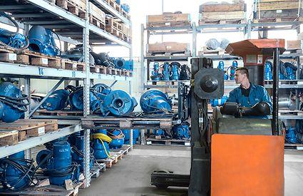 Rental pumps from KSB