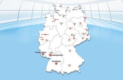 Standorte Uder Elektromechanik