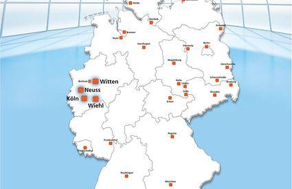 Standorte PMS-BERCHEM