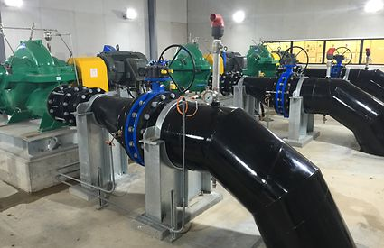 Pumps for the Sunraysia Modernisation Project in Victoria.