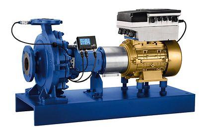 Etanorm PumpDrive, PumpMeter dan motor KSB SuPremE®
