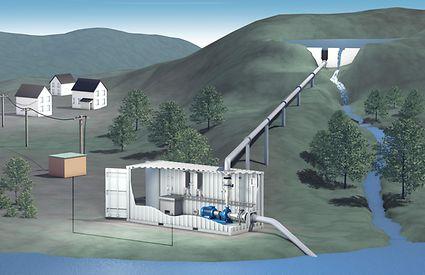 O sistema de produção hidroeléctrica Powerhouse_pic 1