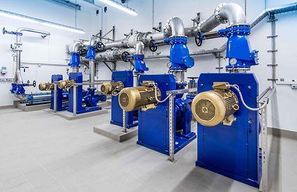 Синхронный реактивный двигатель  SuPremE от KSB (класс IE5)