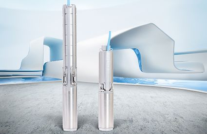UPAchrom 100 submersible borehole pump; 4-inch: for efficient and reliable water extraction