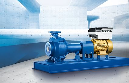 Sewatec waste water pumps combined with energy-efficient KSB SupremE® motors