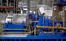 Neumontage im Kraftwerk