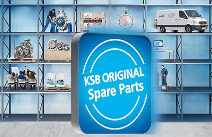 KSB original spare parts