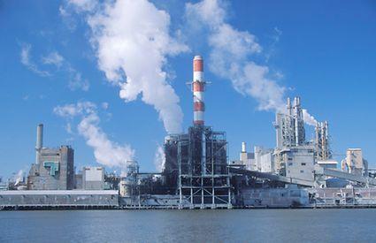 BASF industrial power plant
