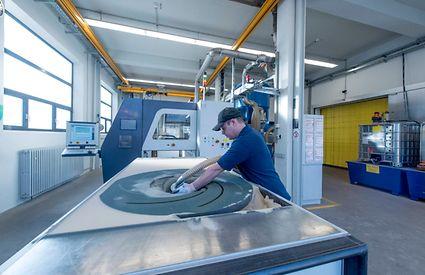 Herstellung einer Gussform über das 3D-Druckverfahren