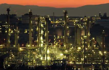 Oil and gas, petrochemical industry, crude oil processing