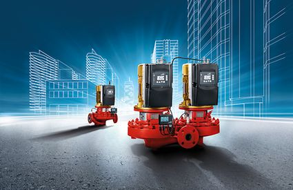 Etaline, Etaline Z, in-line pumps, heating, air-conditioning, ventilation