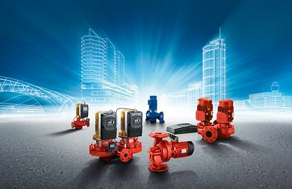 KSB in-line pumps for heating, ventilation and air-conditioning