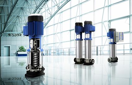 High-pressure pump, Movitec, Building Services