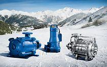 Les pompes et robinets KSB pour l'enneigement artificiel