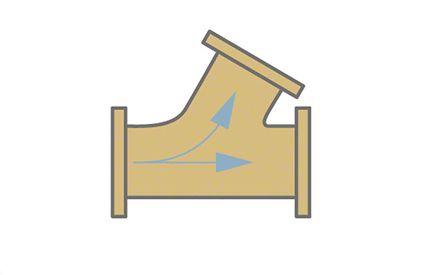Formstück: Bogen-Abzweigstück