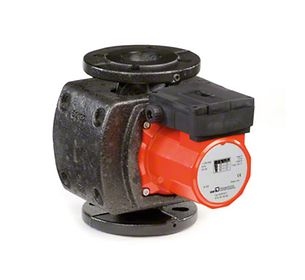 In-line pump: Circulator pump with canned motor and thermal insulation