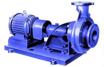 Volute casing pump: Volute casing pump with support bracket