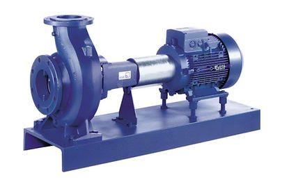 Volute casing pump: Volute casing pump with bearing bracket