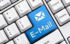 Tastatur mit E-Mail