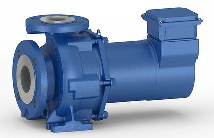 Специальный насос для систем охлаждения локомотивов и ветровых турбин - герметичный насос Etaseco RVP