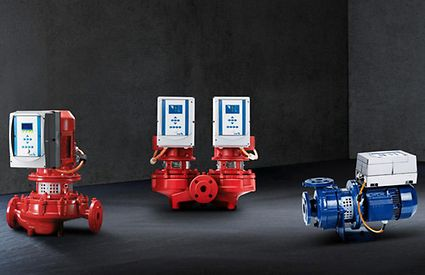 Pumps with PumpDrive variable speed system