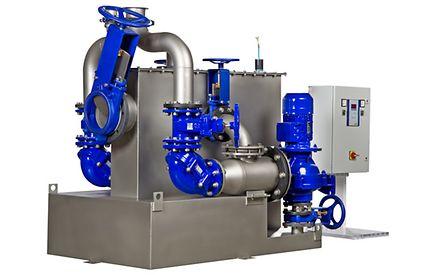 AmaDS³ katı arıtma sistemli atık su pompa istasyonu