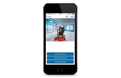 Мобильное приложение для управления PumpDrive